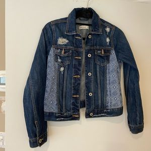 Abercrombie Kids Girls Denim Jacket